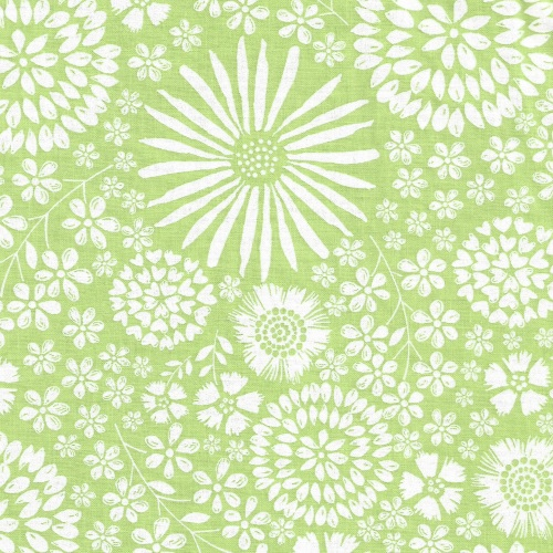 Floral Pop in Celery from Michael Miller - DC7405-Celr-D