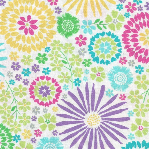 Floral Pop in Happy from Michael Miller - DC7405-Happ-D