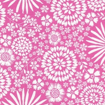 Floral Pop in Pink from Michael Miller - DC7405-Pink-D