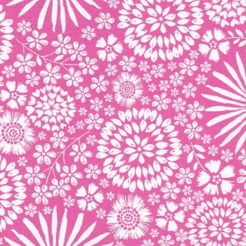 Flora Pop in Pink from Michael Miller - DC7405-Pink-D