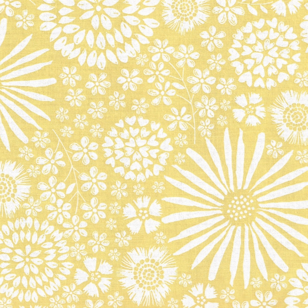 Floral Pop in Yellow from Michael Miller - DC7405-Yell-D