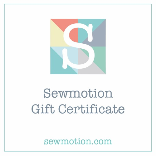 Sewmotion Gift Certificate