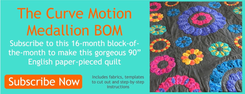 Curve Motion Medallion BOM banner