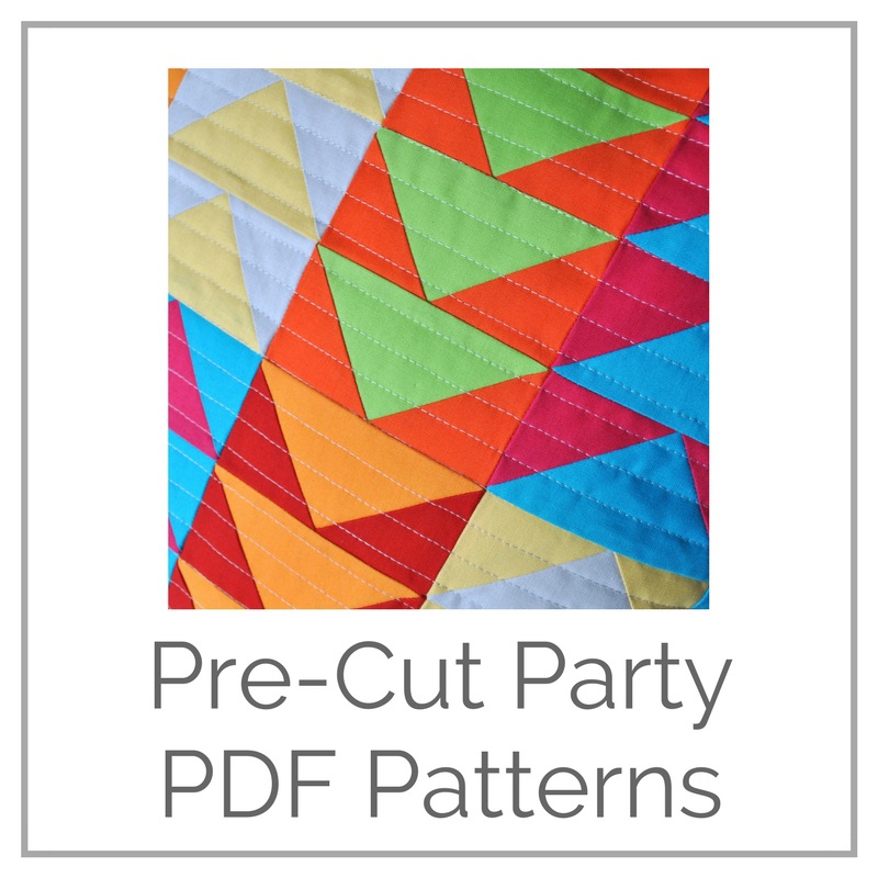 Pre-cut Party PDF Patterns