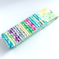 Quilter's Pre-cut 20pc Fabric Strip Set in Michael Miller's Flora Pop
