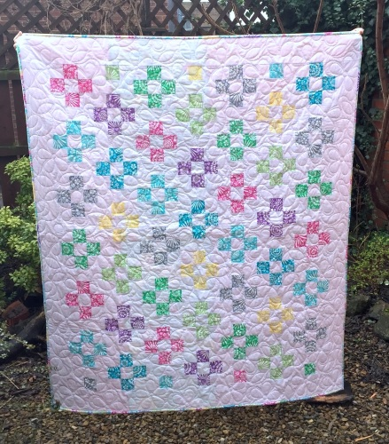 Staggering Nine Patch Quilt Kit