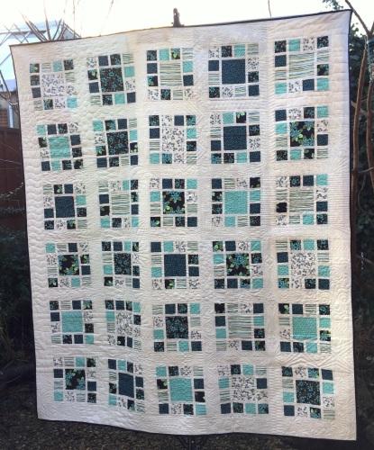 Mosaic Garden Quilt Pattern