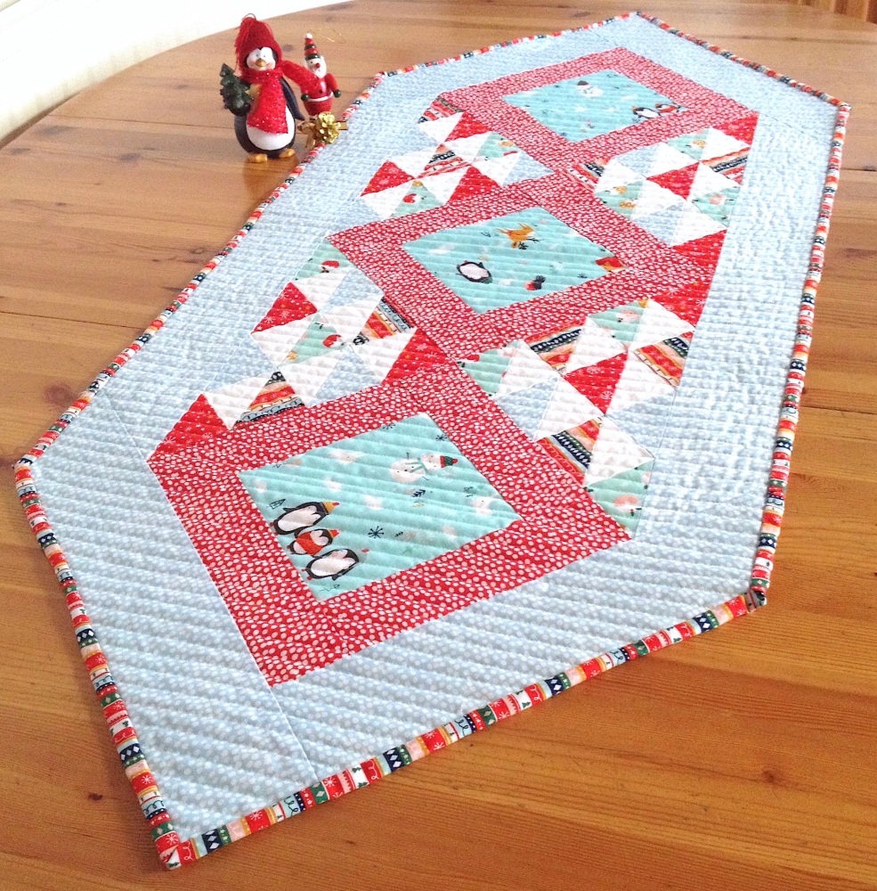 Picture This Table Runner Pattern