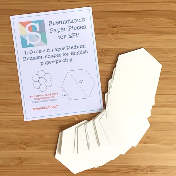 Medium Hexagon Paper Pieces