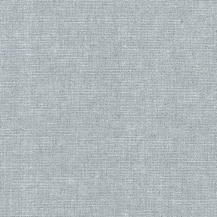 Essex Yarn Dyed Linen in Metallic Fog (E105-444)