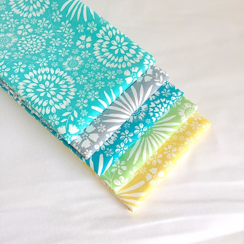 Flora Pop Fabric Bundle for Birds of a Feather Mystery Quilt