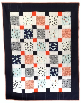 At The Seaside Baby Quilt