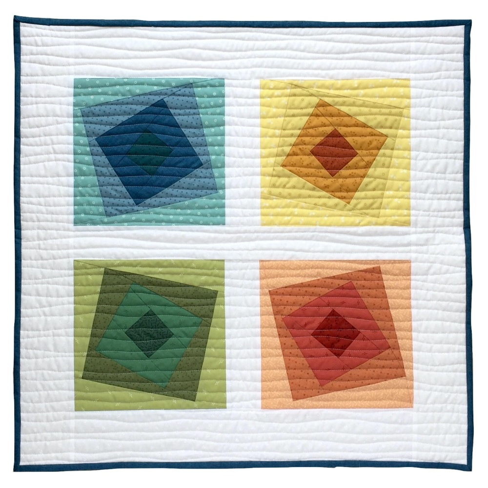 Wonky Squares Wall Hanging Kit