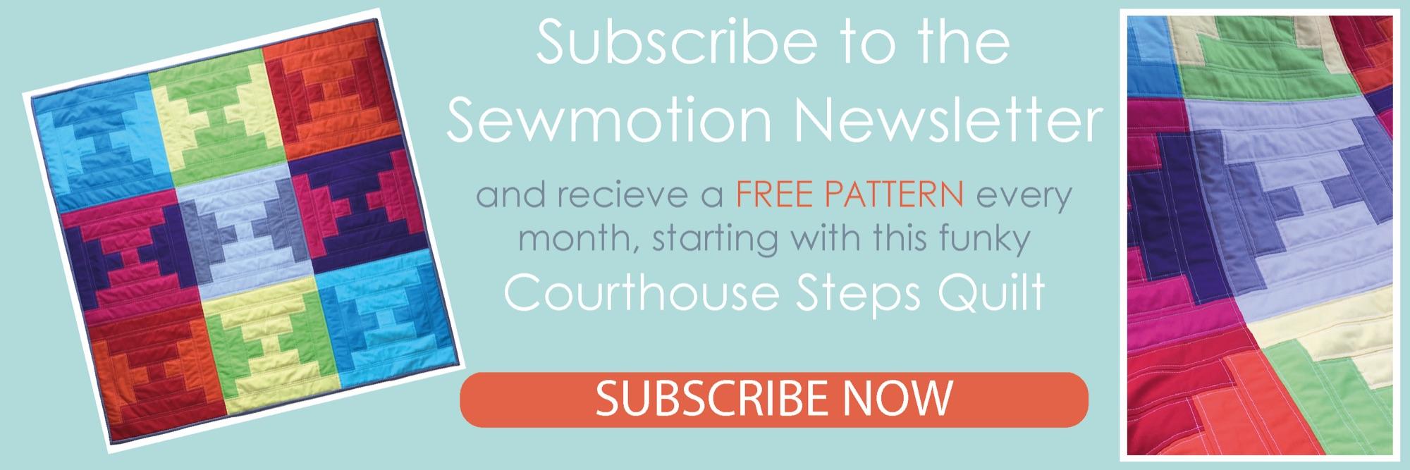 Newsletter Banner - QAYG Quilt