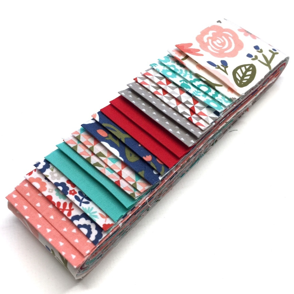 Quilter's Pre-cut 20pc Fabric Strip Set in Riley Blake's Heart & Soul