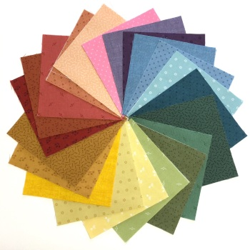 Quilter's Pre-cut 42pc Charm Pack in Bijou