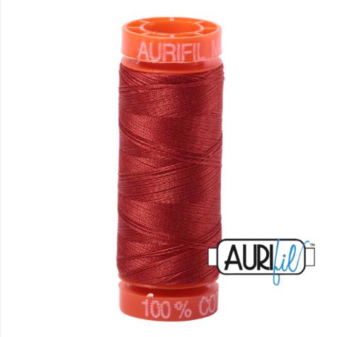 <!-- 001 -->Aurifil Mako 50 Cotton / 200m - Pumpkin Spice - 2395