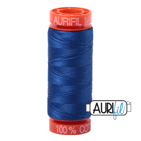 Aurifil Mako 50 Cotton / 200m - Medium Blue - 2735