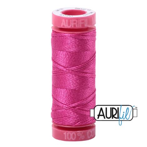 Aurifil Mako 12 Cotton / 50m - Cerise Pink - 4020