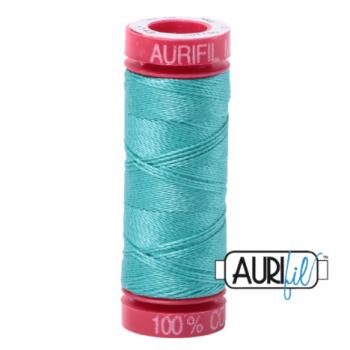 Aurifil Mako 12 Cotton / 50m - Turquoise - 1148