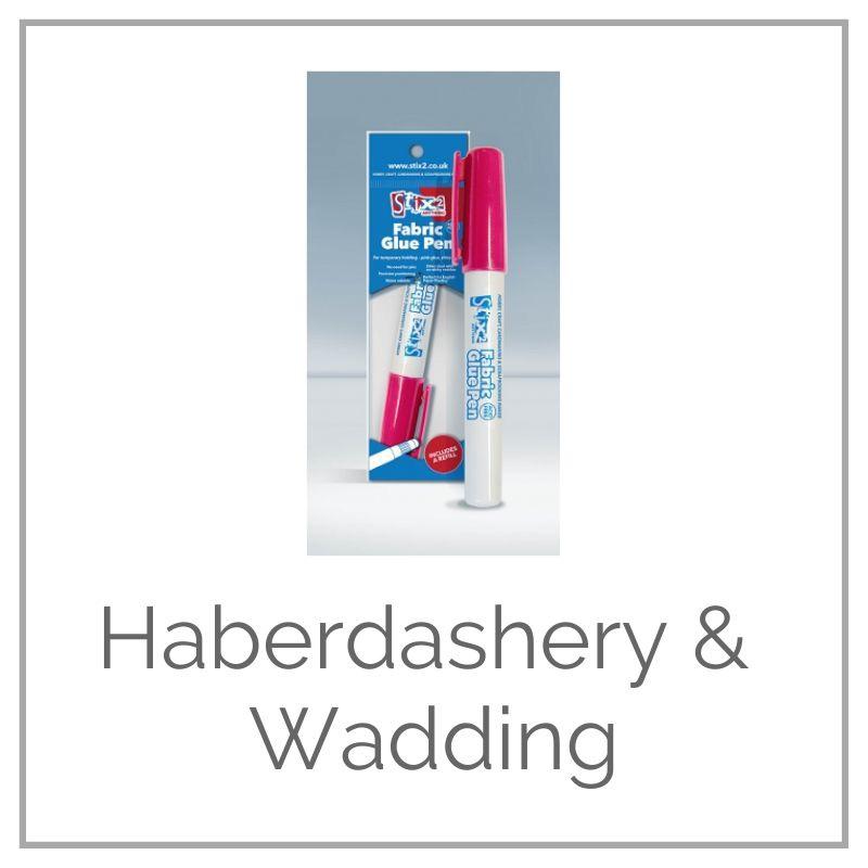 <!-- 005 -->Haberdashery & Wadding