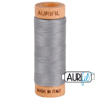 Aurifil Mako 80 Cotton / 200m - Grey - 2605