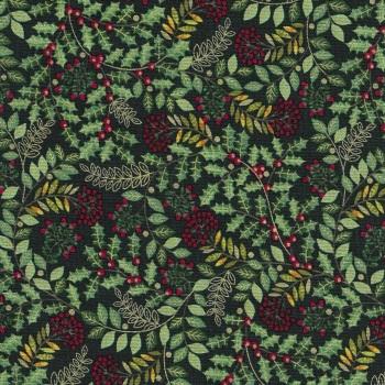 Deck the Halls Leaf Swirl 2093-G