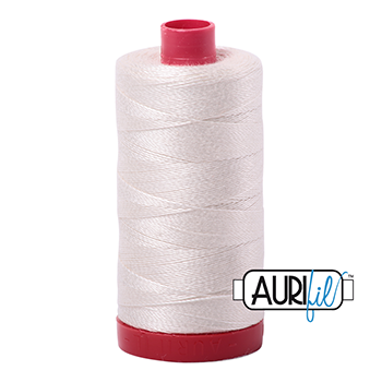 Aurifil Mako 12 Cotton/325m - Ivory - 2311