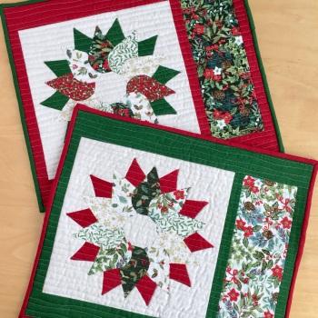 Yuletide Christmas Wreath Table Mats Kit (2020)