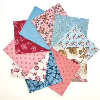 Quilter's Pre-cut 42pc Charm Pack in Edyta Sitar's Super Bloom