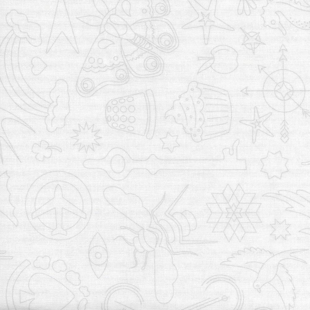 Sun Prints 2020 9256-L1 Lace Embroidery