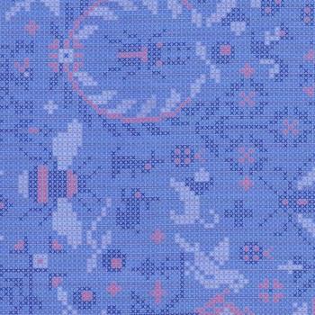Sun Prints 2020 9387-B Opal Menagerie