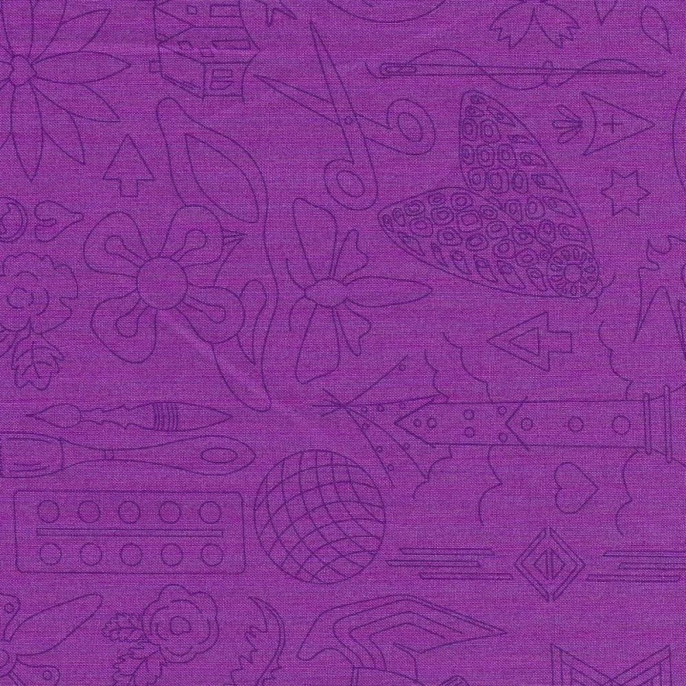 Sun Prints 2020 9256-P Jam Embroidery