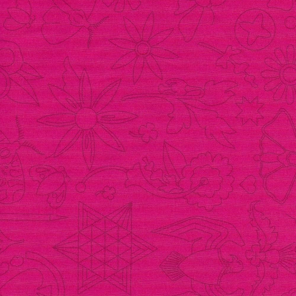 Sun Prints 2020 9256-E1 Strawberry Embroidery
