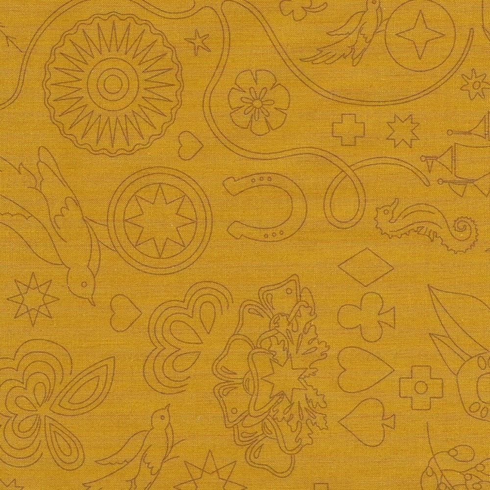 Sun Prints 2020 9256-Y Yarrow Embroidery