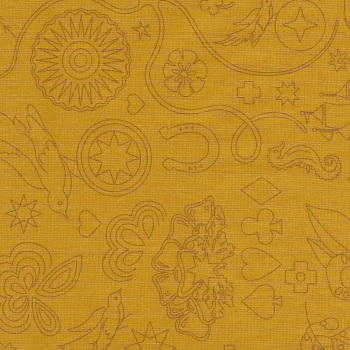 Sun Prints 2020 9256-Y Yarrow Embroidery