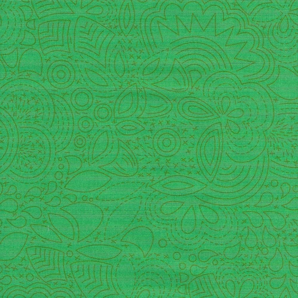 Sun Prints 2020 8450-G Grasshopper Stitched