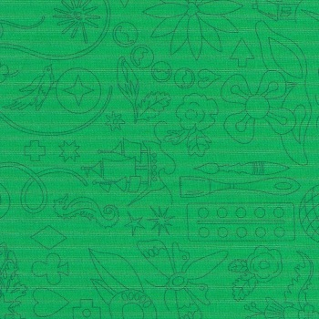 Sun Prints 2020 9256-G Turtle Embroidery