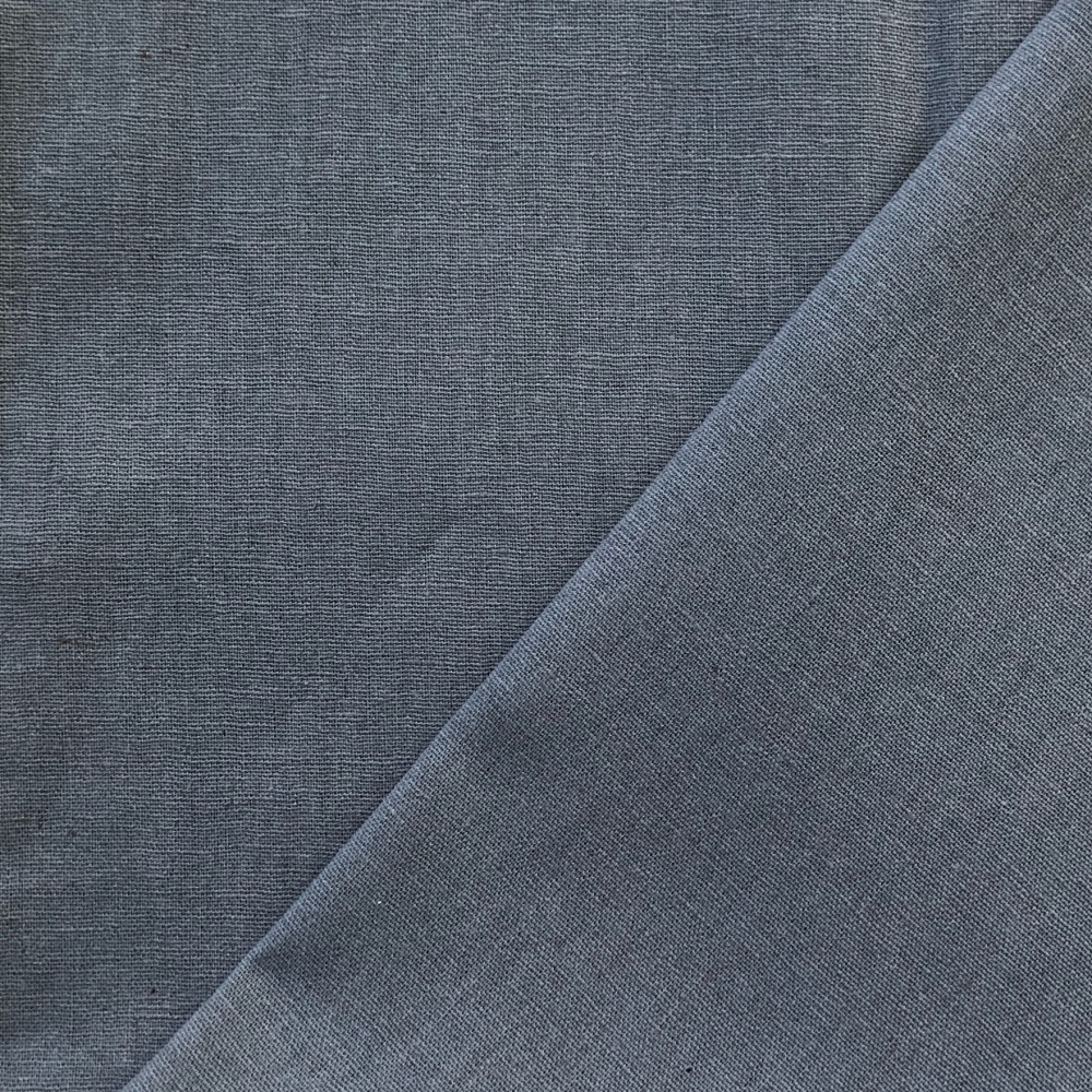 <!-- 001 -->Linen/Cotton Solid Dye in Dark Grey 1000-LCS8