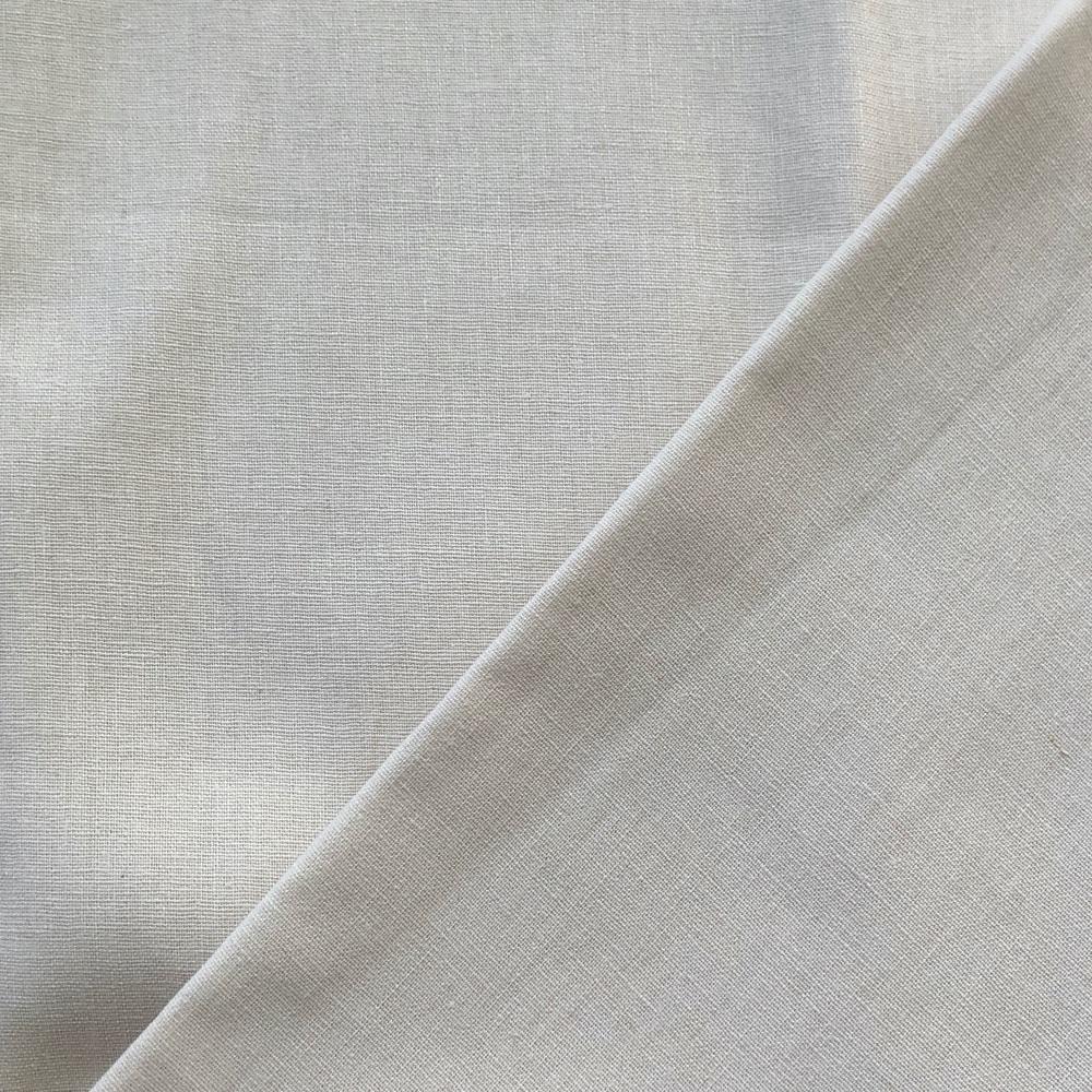 <!-- 001 -->Linen/Cotton Solid Dye in Cream