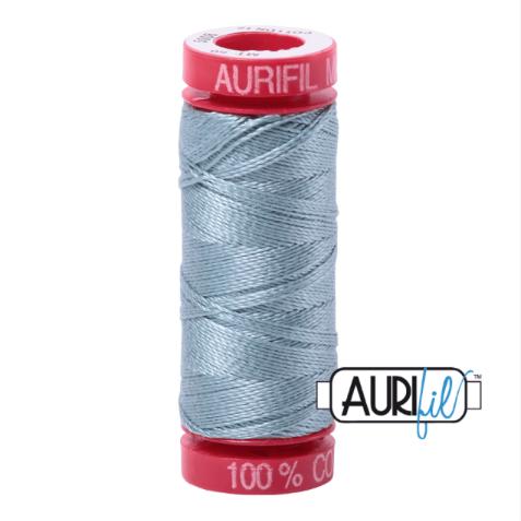 Aurifil Mako 12 Cotton / 50m - Duck Egg - 5008