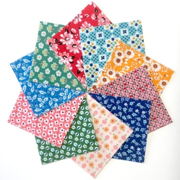 Quilter's Pre-cut 42pc Charm Pack in Riley Blake's Flea Market