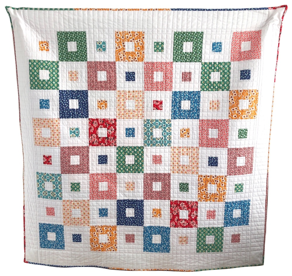 <!-- 001 -->All Squared Up Quilt Kit in Flea Market - finishes at approx. 5