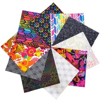Quilter's Pre-cut 42pc Charm Pack in Alison Glass's Art Theory