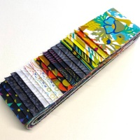 Quilter's Pre-cut 20pc Fabric Strip Set in Alison Glass's Art Theory