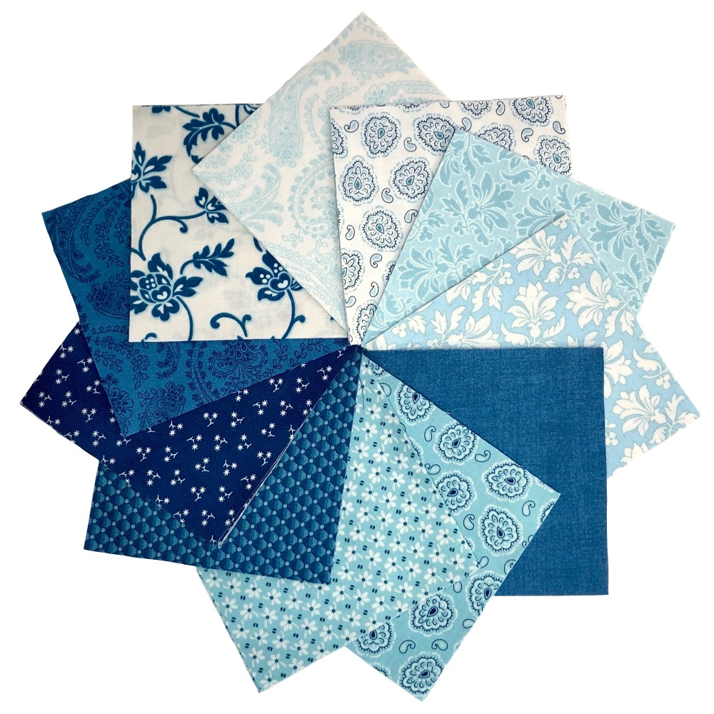 <!-- 001 -->Quilter's Pre-cut 42pc Charm Pack in Annabella