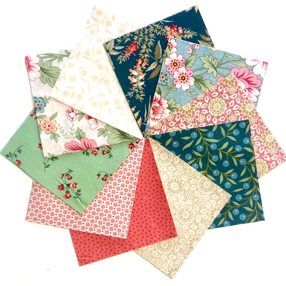 <!-- 001 -->Quilter's Pre-cut 42pc Charm Pack in Seamstress