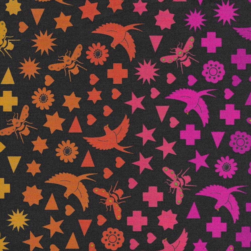 Art Theory Birds & Bees in Night 9699-C