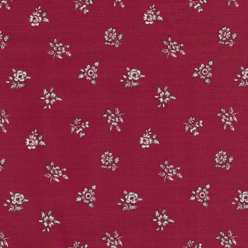Liberty Flower Show Winter Abbeywood Red - 4775717C