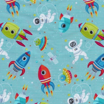 Outer Space Scene - 2267-T